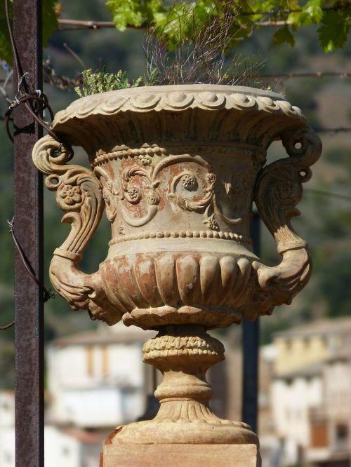 planter vase terracotta
