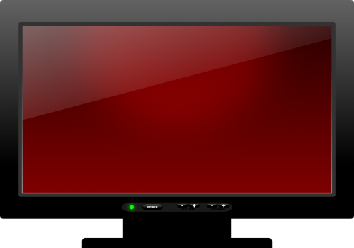 plasma tv television telly