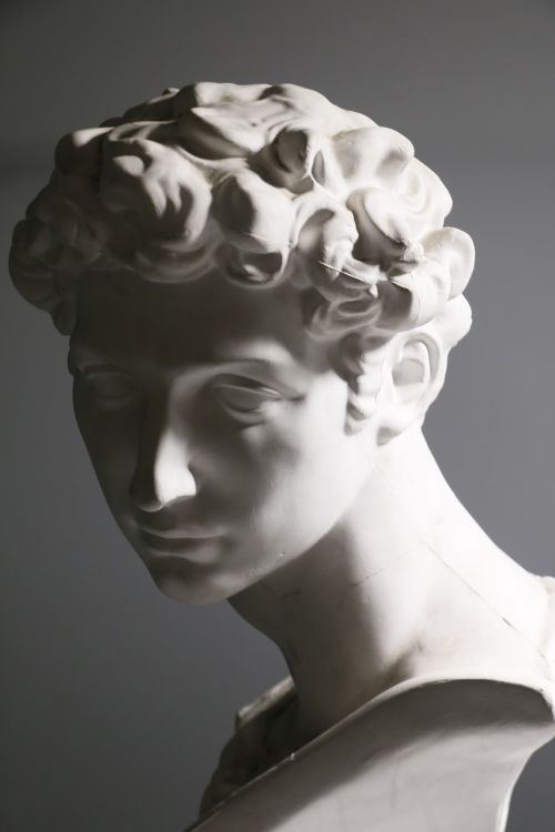 plaster classical photography