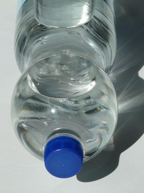 plastic bottle bottle mineral water