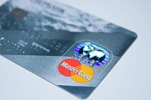 plastic card payment money