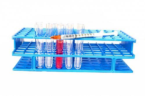 Plastic Syringe And Test Tubes