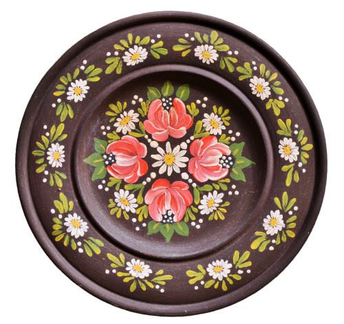 plate wooden plate wall plate