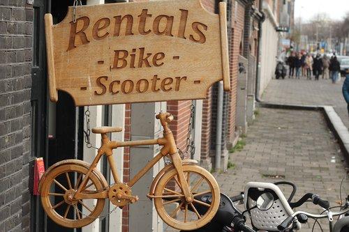 plate  bike rental  original