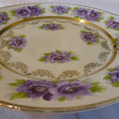 plate porcelain old plate