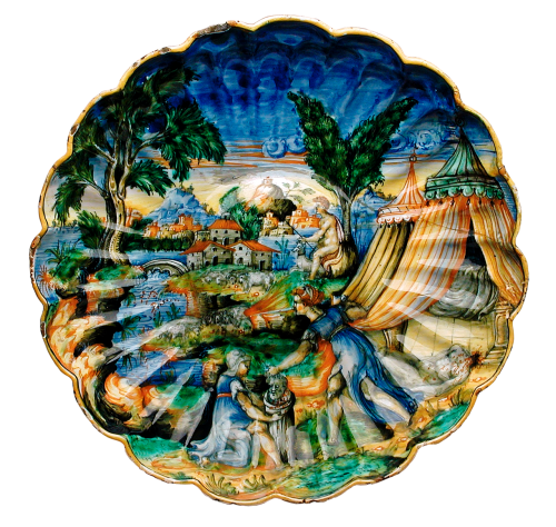 plate tableware art