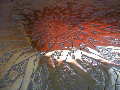 plateau copper morocco