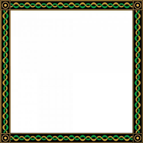 Plated 1 Frame