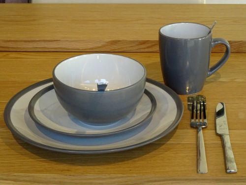 Plates Bowl Cup And Cutlery