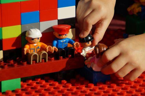 play lego duplo build