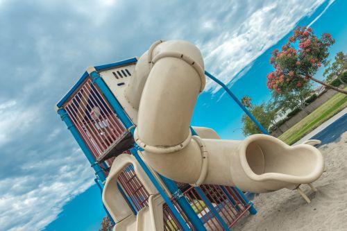 playground sliding slide