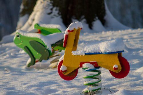 playground toys winter