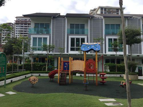 playground residence slide