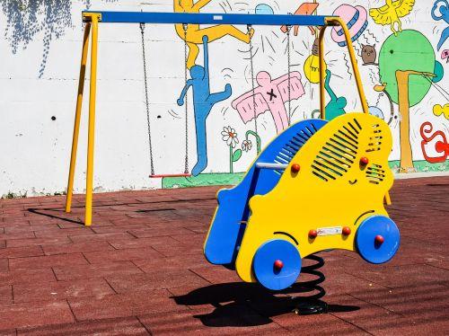 playground car swing