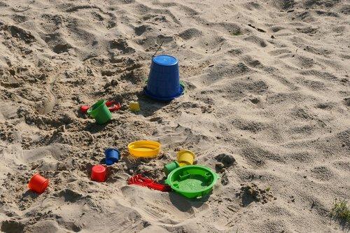 playground  sand pit  children