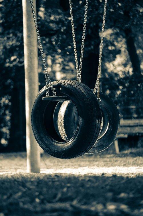 playground  mature  swing