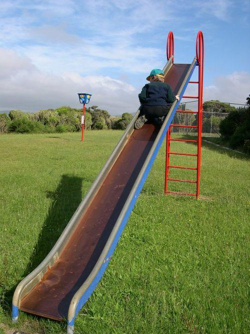 playground slide children's playground