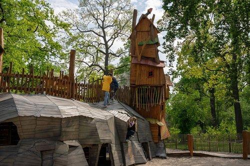 playground  children  play