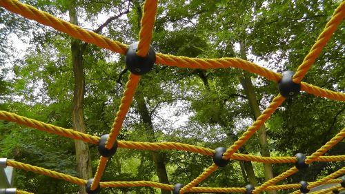 playground climbing net network