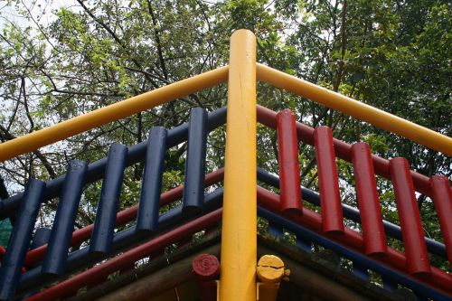 Playground Structure In Wood