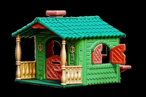 playhouse children's house kunststoffhaus
