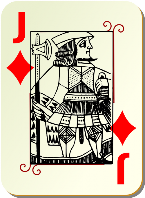 playing card knave card deck