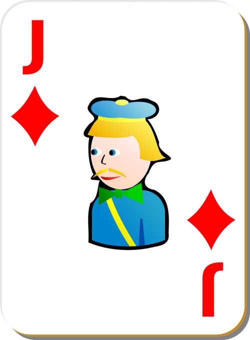 playing card jack diamonds