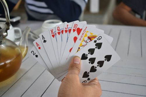 playing cards cards game