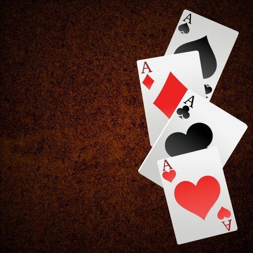 playing cards ace gambling