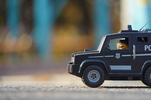playmobil police police truck