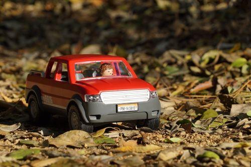 playmobil,off road,Keturių ratų pavara,pikapas,takas,ruduo