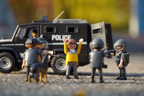 police playmobil suppressors