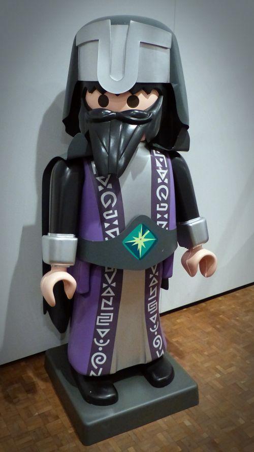 playmobil figure magician