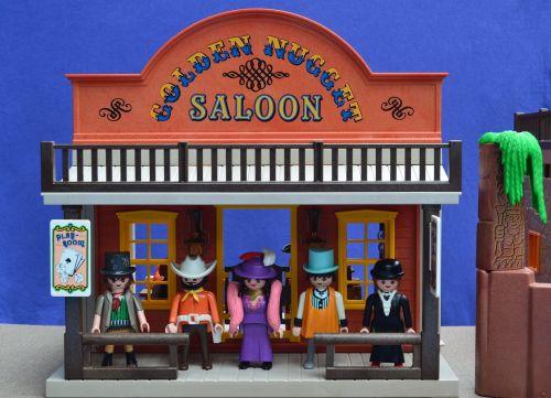 playmobil western saloon