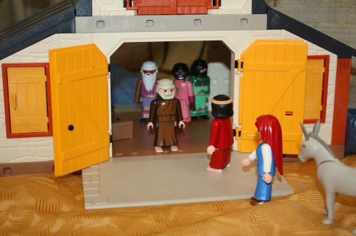playmobil christmas story herberg seeking
