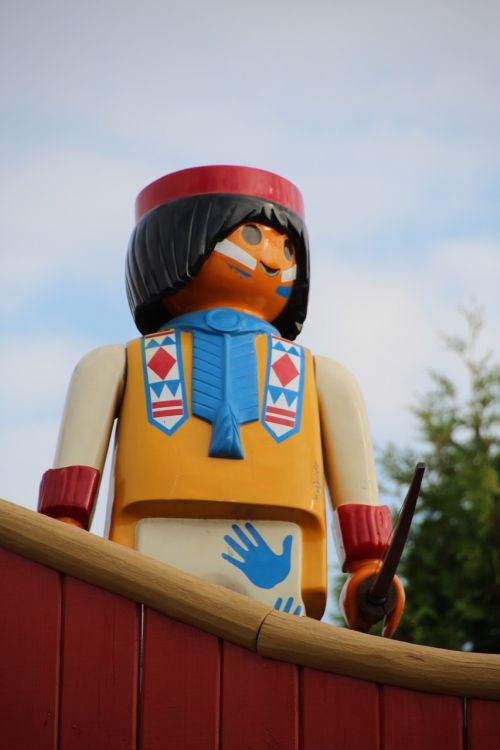 playmobil indians western