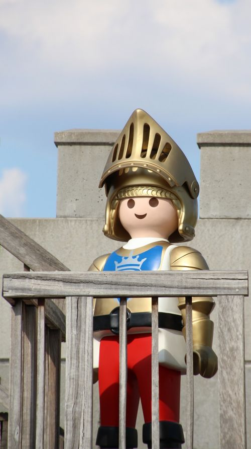 playmobil knight childhood