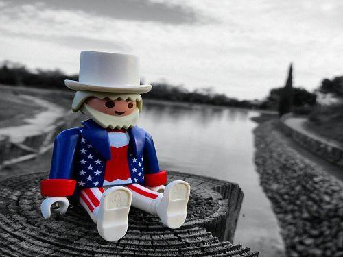 playmobil toy lake