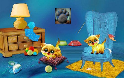 playroom kittens kitten
