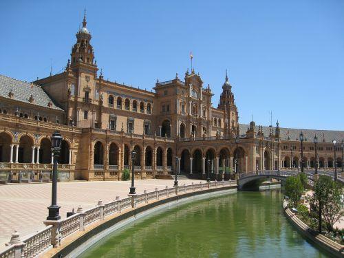 plaza de espania andalucia seville