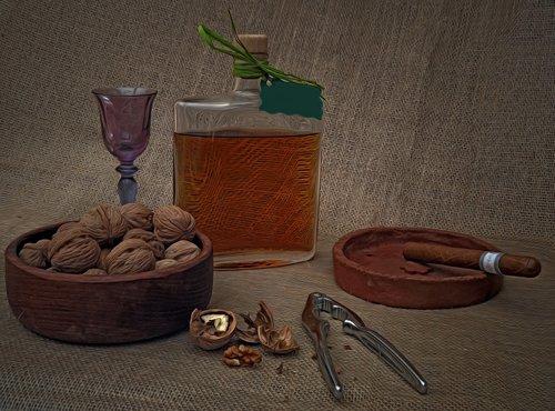 pleasure  nuts  liqueur