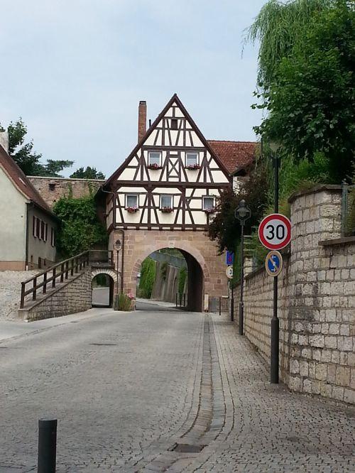 pleinfeld splitter gate middle franconia