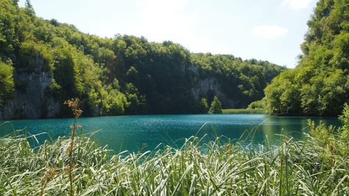 plivicer lakes croatia forest