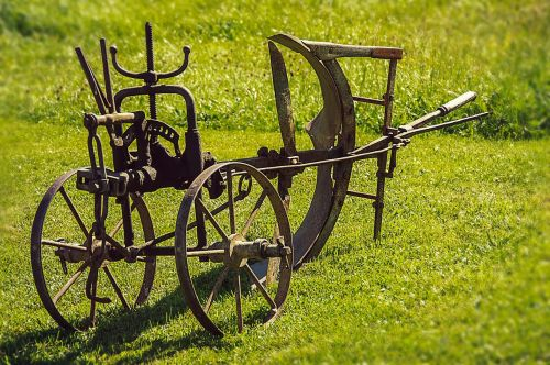 plough old device agriculture