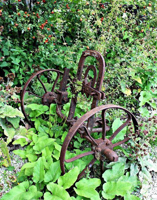 plough field device antique