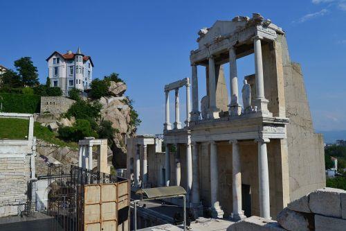 plovdiv roman ruins bulgaria