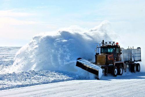 plow snow ice