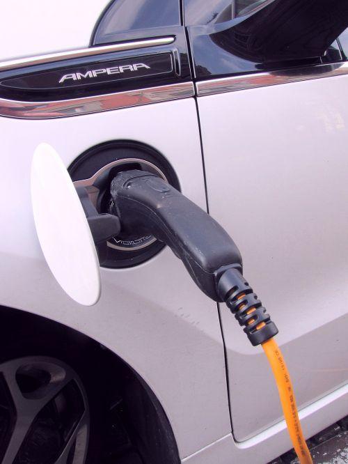 plug-in electricity e-car