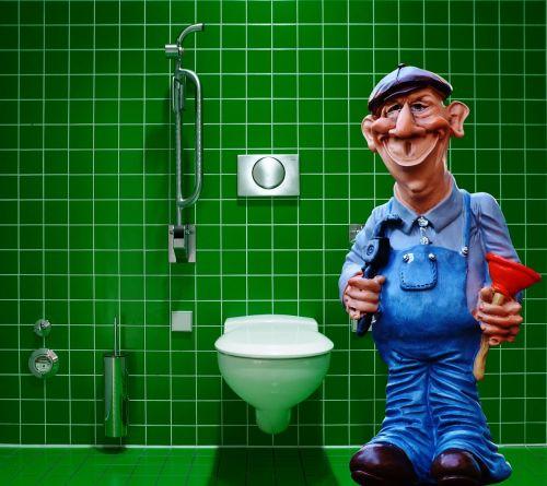 plumber pömpel figure