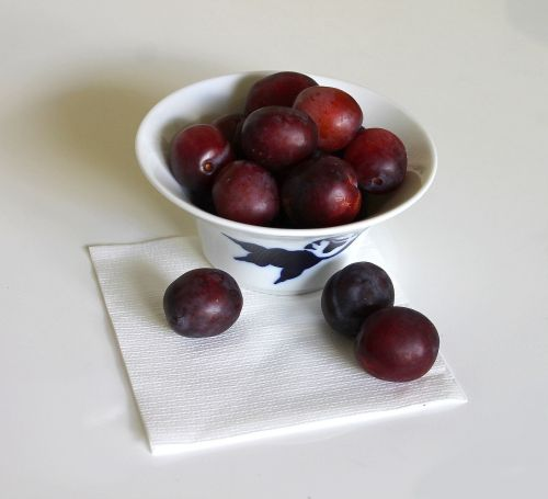 plums fruit summer